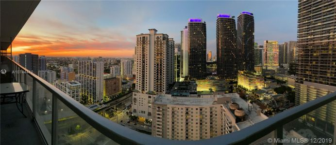 Axis on Brickell North Tower #2922-N - 1111 SW 1st Ave #2922-N, Miami, FL 33130